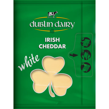 DUBLIN DAIRY White Cheddar White plastry 150g