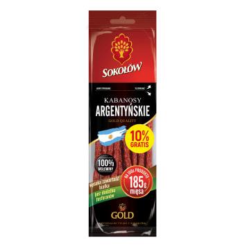 SOKOŁÓW Gold Kabanosy argentyńskie 100g