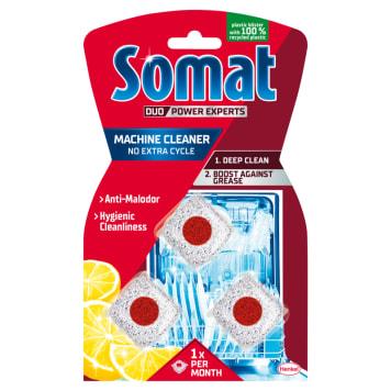 SOMAT Machine Cleaner Kapsułka proszkowa do czyszczenia zmywarki 3 szt. 1szt