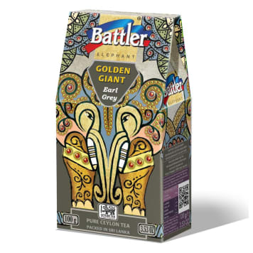 BATTLER Herbata Cejlońska Earl Grey, liściasta 100g