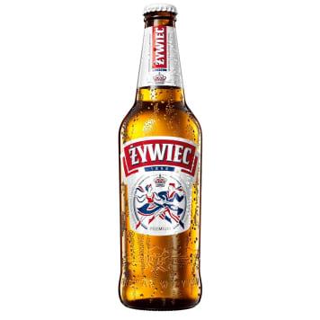 ŻYWIEC Piwo w butelce (cena zawiera 0,50 zł kaucji za butelkę) 500ml