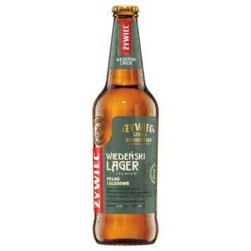 ŻYWIEC Wiedeński Lager Piwo (cena zawiera 0,5zł kaucji za butelkę) 500ml