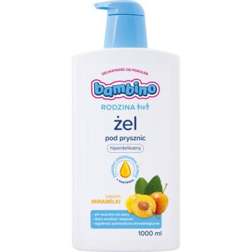 BAMBINO RODZINA Żel pod prysznic o zapachu mirabelki 1l