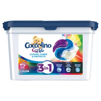 COCCOLINO Care Kapsułki do prania kolorowych tkanin 40 szt 1szt