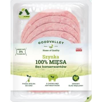 GOODVALLEY Szynka 100% mięsa bez konserwantów 100g