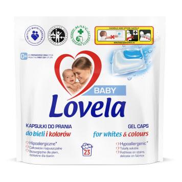 LOVELA Baby Kapsułki do prania białych i kolorowych tkanin 23 szt. 1szt