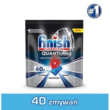 FINISH Quantum Ultimate Kapsułki do zmywarki Regular 40 szt 500g