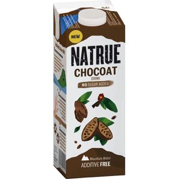 NATRUE Napój owsiany z kakao i orzechami laskowym bez cukru 1l