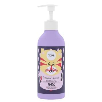YOPE Naturalny żel pod prysznic dla dzieci Żurawina i Lawenda 400ml