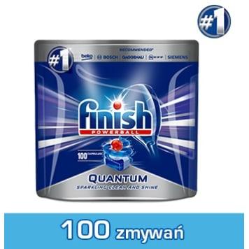 FINISH Quantum Kapsułki do zmywarki Regular regularne 100 szt 1szt