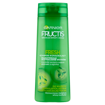 GARNIER FRUCTIS Fresh Szampon wzmacniający do włosów normalnych 400ml