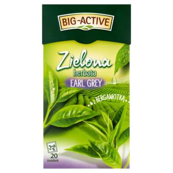 BIG ACTIVE Herbata zielona z bergamotką 30g