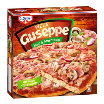 Pizza mrożona - Dr. Oetker. Pizza z szynką i pieczarkami to doskonały pomysł na szybki obiad.