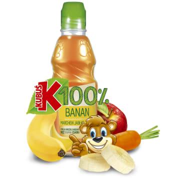 KUBUŚ 100% Banan marchew jabłko Sok 3.6l