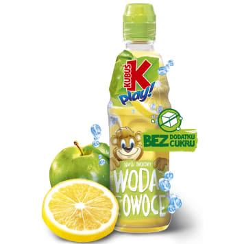 KUBUŚ Play! Napój owocowy woda i owoce jabłko cytryna 400ml