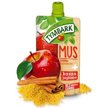 TYMBARK Mus jabłko cynamon + kasza jaglana 100g