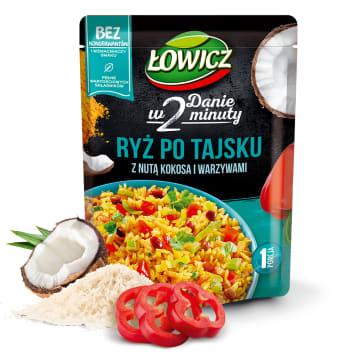 ŁOWICZ Ryż po tajsku z nutą kokosa i warzywami 250g