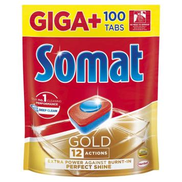 SOMAT Gold Tabletki do zmywarki 100 szt. 1szt
