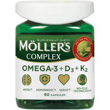 MÖLLER S Complex, 60 kapsułek 1szt