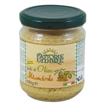 FATTORIE UMBRE Pasta z zielonych oliwek z migdałami i truflą 180g