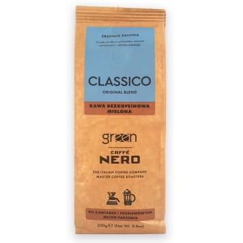 GREEN CAFFE NERO Kawa bezkofeinowa mielona 250g