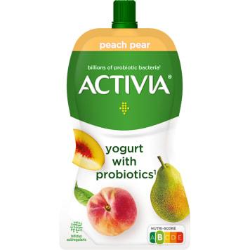 DANONE Activia Jogurt w saszetce brzoskwinia- gruszka 130g