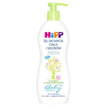 HIPP Baby Sanft Żel do mycia ciała i włosów 400ml