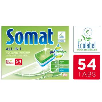 SOMAT Pro Nature Tabletki do zmywarki 54 szt. 1szt