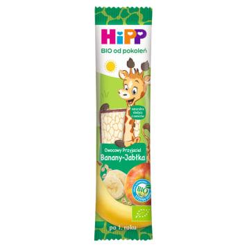 HIPP Batonik Owocowy- Przyjaciel Banany-Jabłka BIO 23g