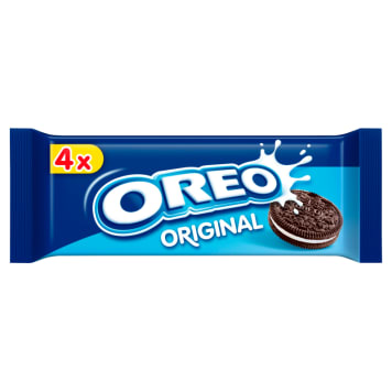 OREO Ciastka kakaowe z nadzieniem o smaku waniliowym 44g