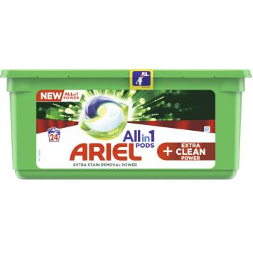 ARIEL Allin1 Pods +OXI Kapsułki do prania tkanin 24 szt. 1szt