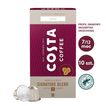 COSTA COFFEE Signature Blend Lungo kawa w kapsułkach 57g