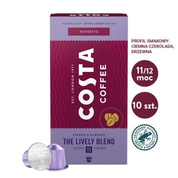 COSTA COFFEE Lively Blend Ristretto kawa w kapsułkach 57g