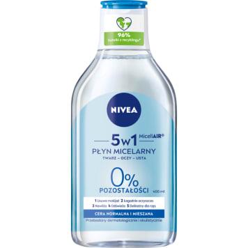 NIVEA MicellAir Skin Breathe Pielęgnujący płyn micelarny (cera normalna i mieszana) 400ml