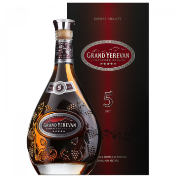 GRAND YEREVAN Brandy 5 YO 500 ml