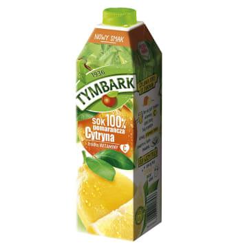TYMBARK Sok 100% pomarańcza cytryna 1l