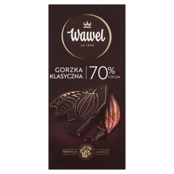 WAWEL Czekolada gorzka 70% kakao 100g