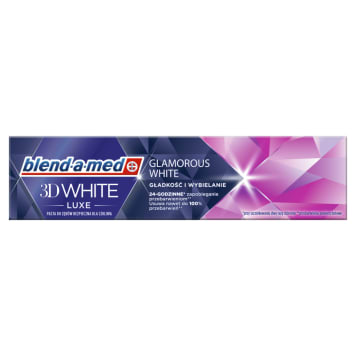 BLEND-A-MED 3D White Luxe Glamour Pasta wybielająca do zębów 75ml