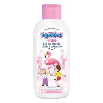BAMBINO Dzieciaki Żel do mycia ciała i włosów 2w1 flaming 400ml