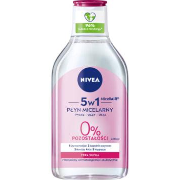 NIVEA MicellAir Skin Breathe Pielęgnujący płyn micelarny do cery suchej 400ml