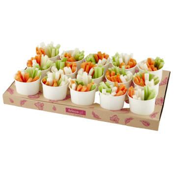 FRISCO FRESH Mix warzyw krojonych tacka (15 x 150g) 2.25kg