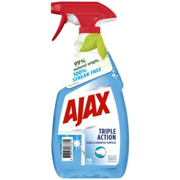 AJAX Płyn do mycia szyb Triple Action 500ml