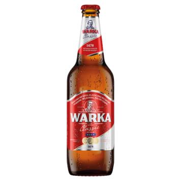 WARKA Classic Piwo jasne (Cena zawiera 0,5zł kaucji za butelkę) 500ml