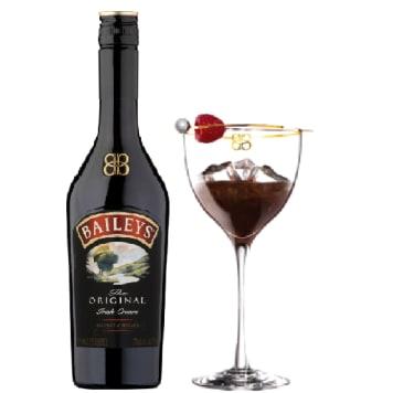 BAILEYS Irish Cream Likier + kieliszek 700ml