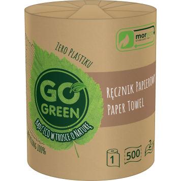 GO GREEN Ręcznik papierowy 1 rolka, 500 listków 1szt