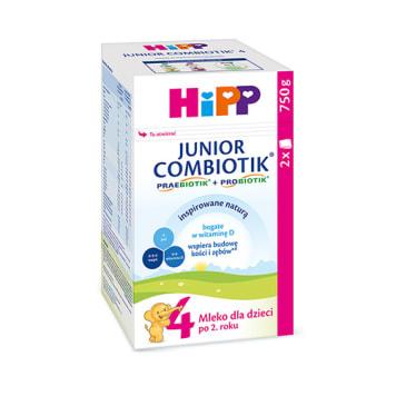 HIPP COMBIOTIK 4 Junior Mleko dla małych dzieci po 2. roku 750g