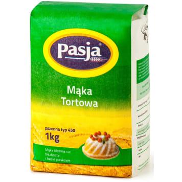PASJA Mąka tortowa pszenna (typ 450) 1kg