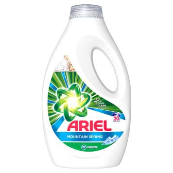 ARIEL MOUNTAIN SPRING Płyn do prania tkanin jasnych i kolorowych 1.1l