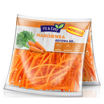 FIT&EASY Marchew Julienne Duo (2x125g) 250 g