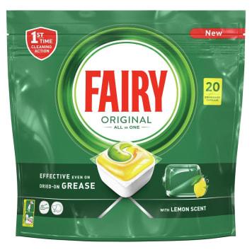 FAIRY Original All In One Kapsułki do zmywarki cytrynowe 20 szt 1szt